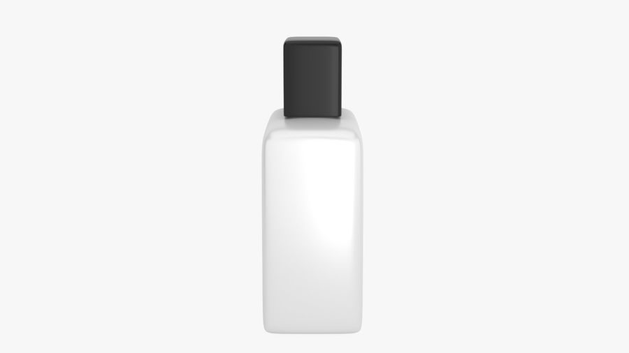 Ceramic Bottle royalty-free 3d model - Preview no. 8