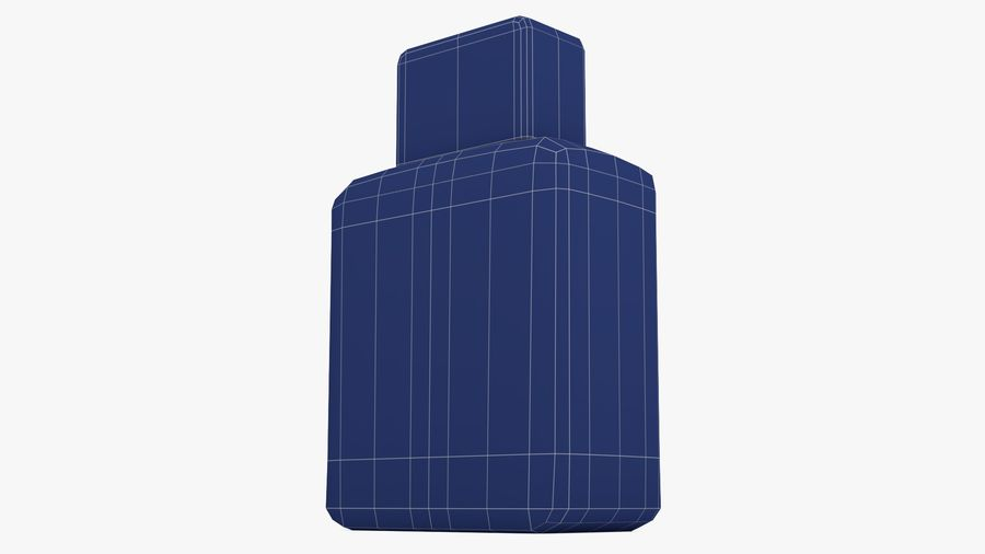 Ceramic Bottle royalty-free 3d model - Preview no. 25
