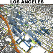 Los Angeles Downtown 3d model