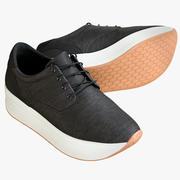 Zapatillas 7 modelo 3d