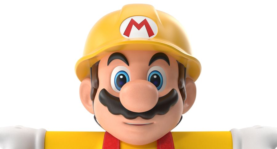 Mario Bros Builder royalty-free 3d model - Preview no. 6