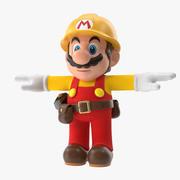 Марио Брос Строитель 3d model