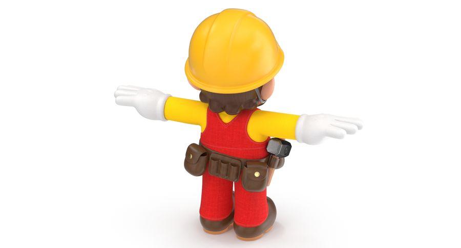 Mario Bros Builder royalty-free 3d model - Preview no. 8
