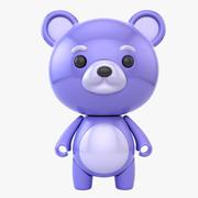 Blueberry Bear Bot (1) 3d model