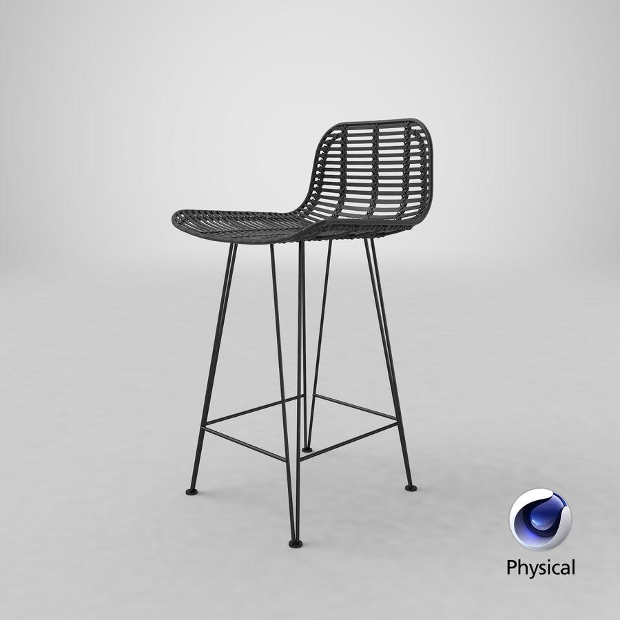 Bar stołek Living royalty-free 3d model - Preview no. 30