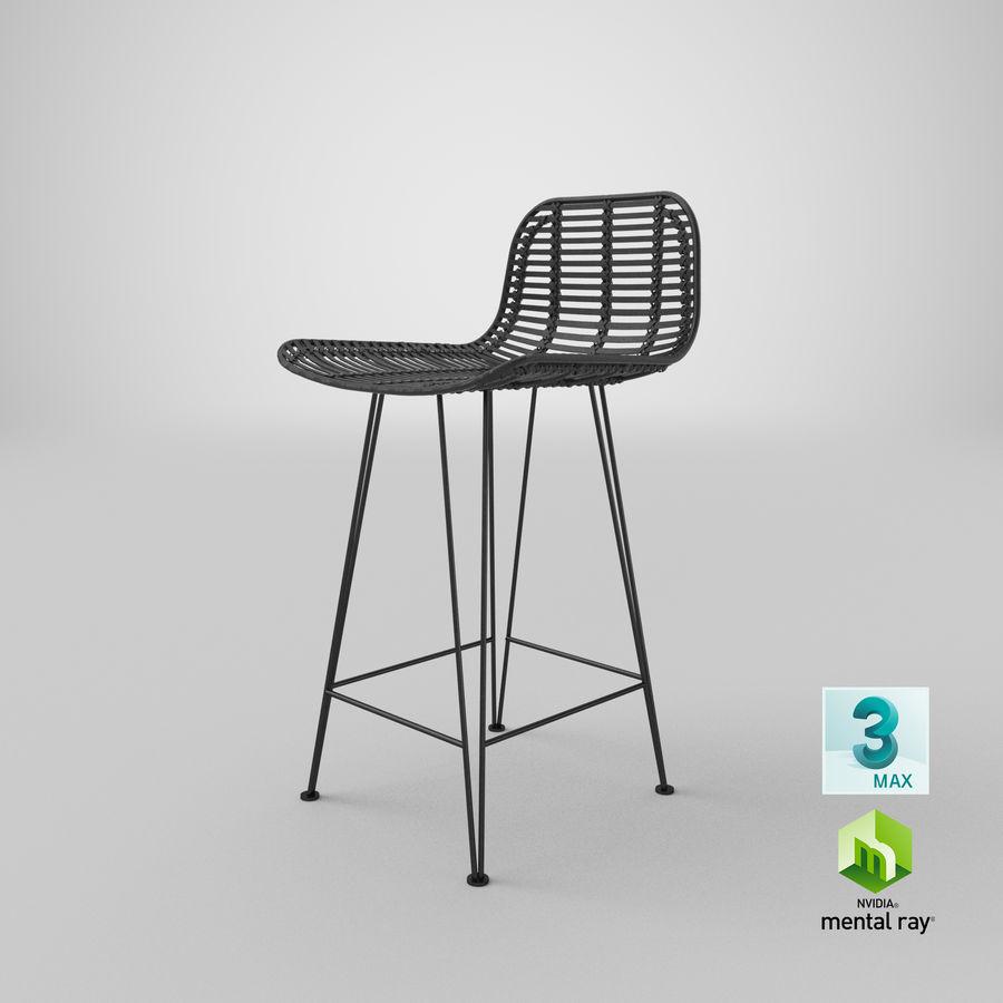 Bar stołek Living royalty-free 3d model - Preview no. 35