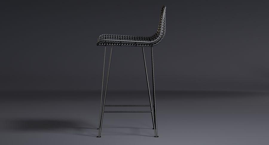 Bar stołek Living royalty-free 3d model - Preview no. 12