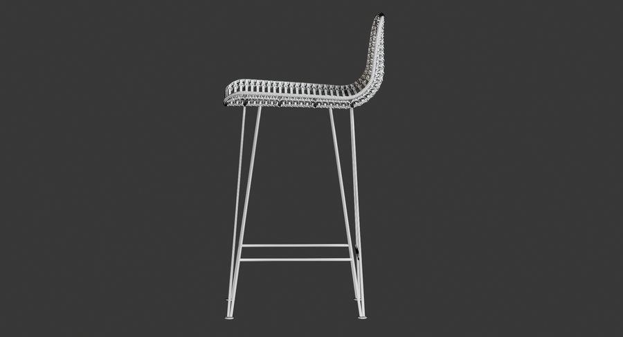 Bar stołek Living royalty-free 3d model - Preview no. 23
