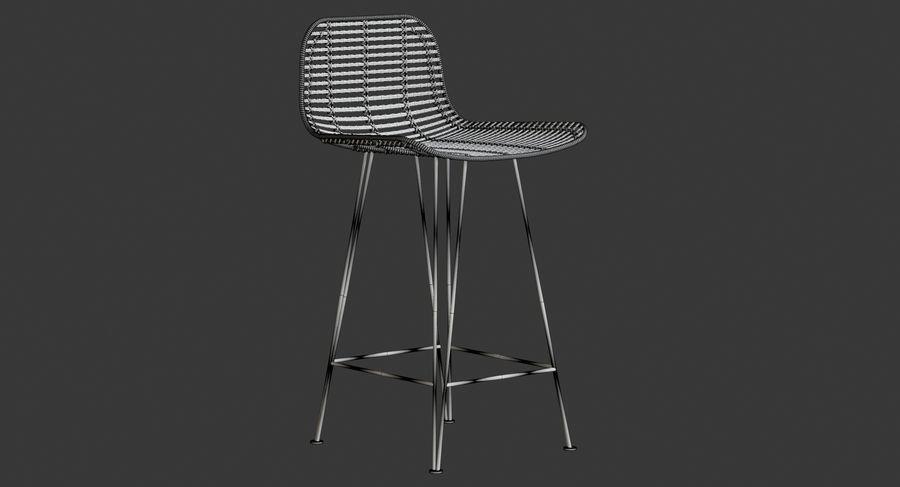 Bar stołek Living royalty-free 3d model - Preview no. 15