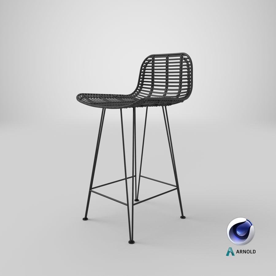 Bar stołek Living royalty-free 3d model - Preview no. 31