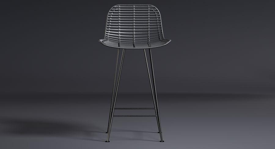 Bar stołek Living royalty-free 3d model - Preview no. 8
