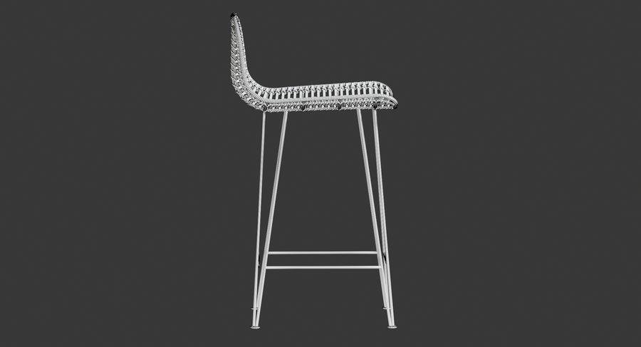 Bar stołek Living royalty-free 3d model - Preview no. 21