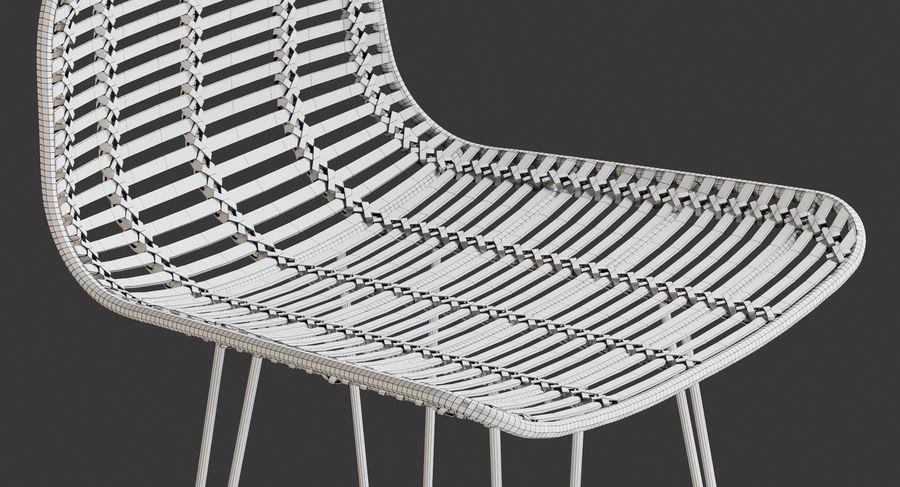 Bar stołek Living royalty-free 3d model - Preview no. 19