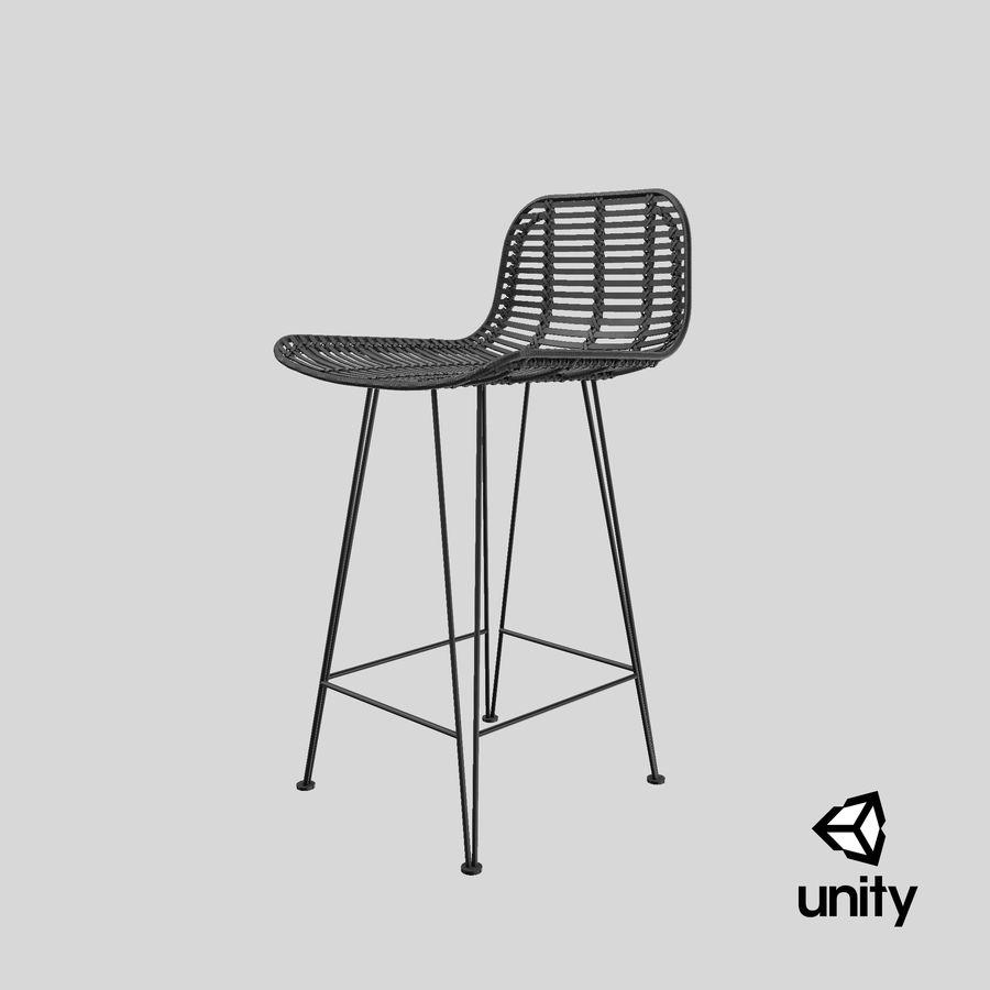 Bar stołek Living royalty-free 3d model - Preview no. 32