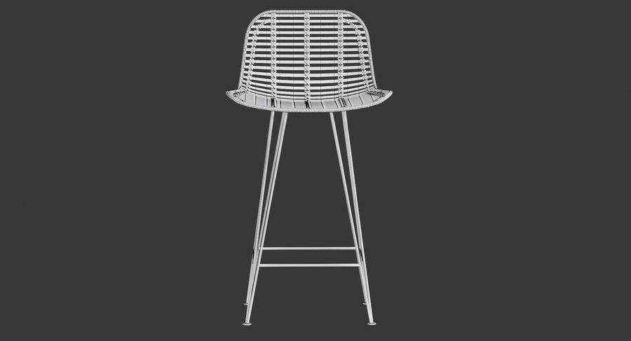 Bar stołek Living royalty-free 3d model - Preview no. 20