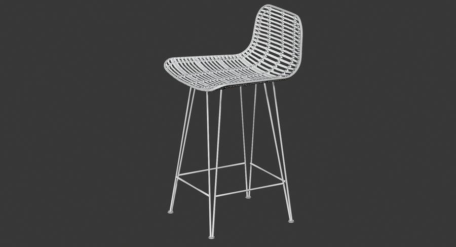 Bar stołek Living royalty-free 3d model - Preview no. 16