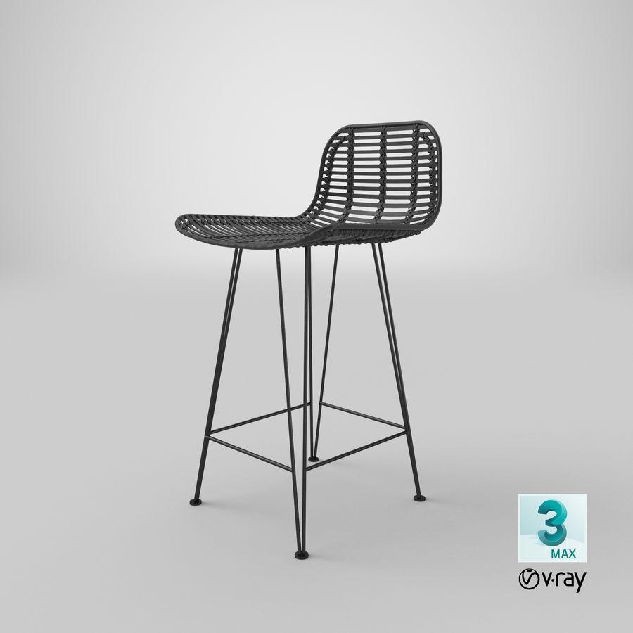 Bar stołek Living royalty-free 3d model - Preview no. 36
