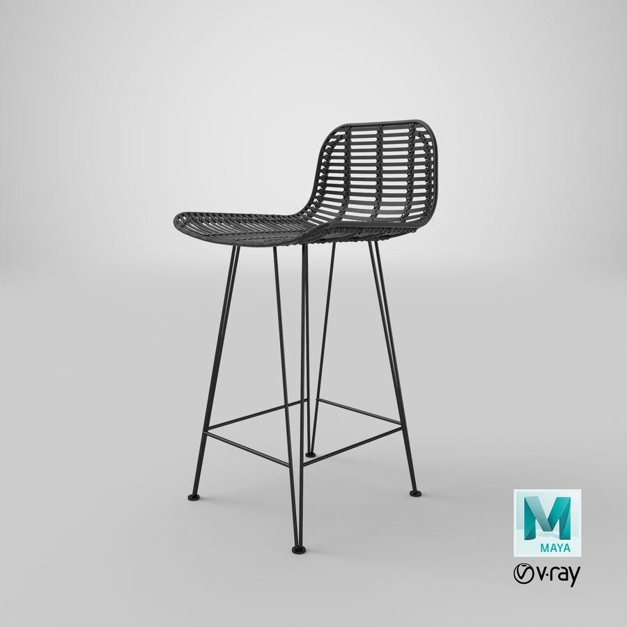 Bar stołek Living royalty-free 3d model - Preview no. 39
