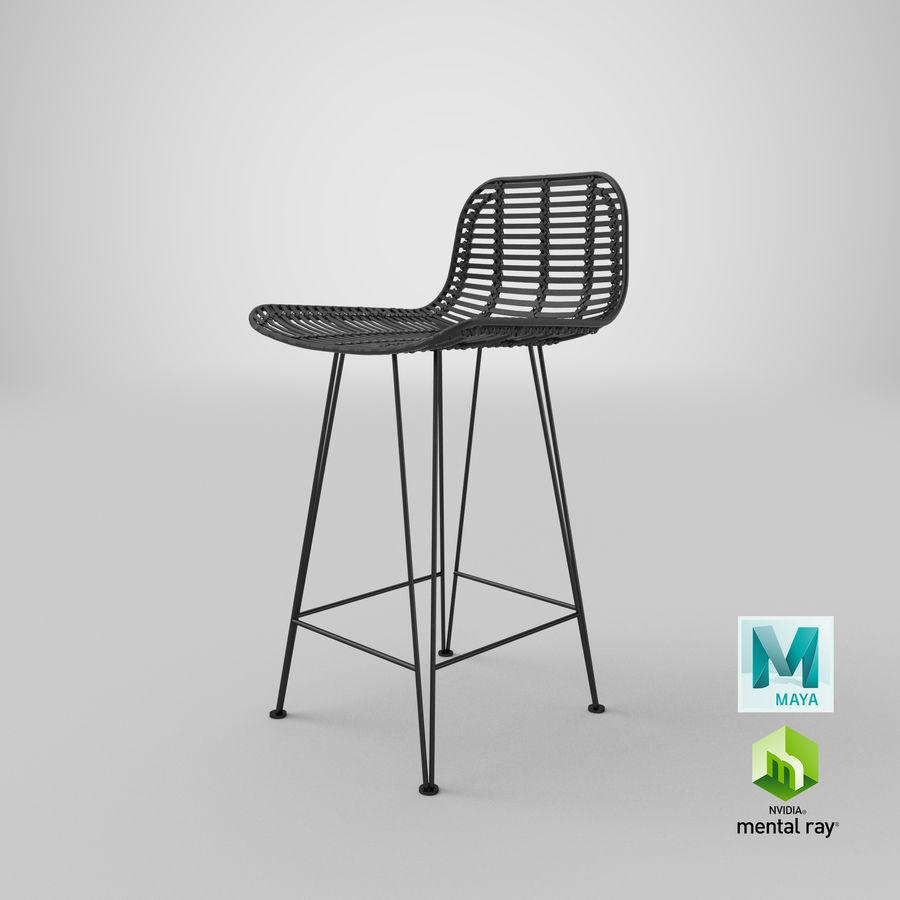 Bar stołek Living royalty-free 3d model - Preview no. 38