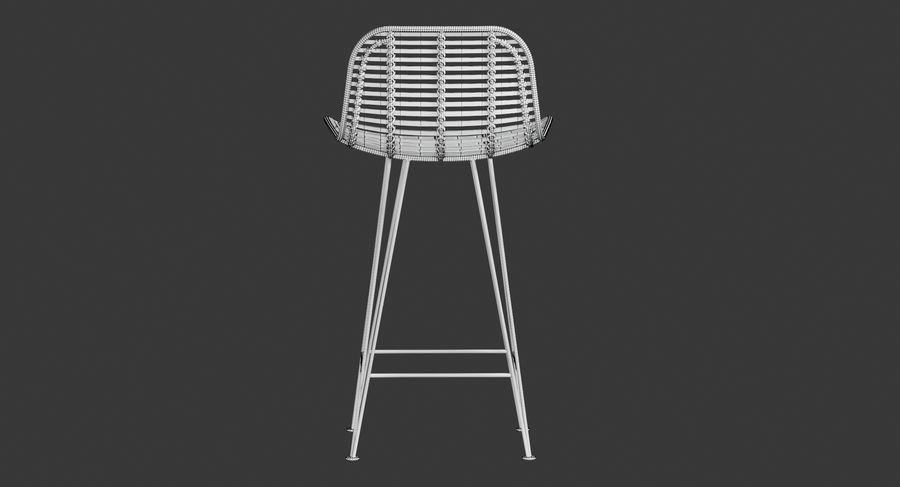 Bar stołek Living royalty-free 3d model - Preview no. 22