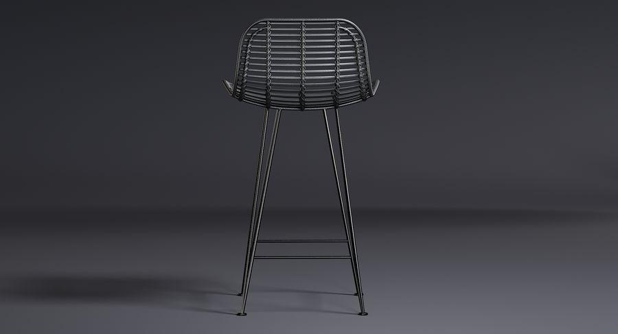 Bar stołek Living royalty-free 3d model - Preview no. 11