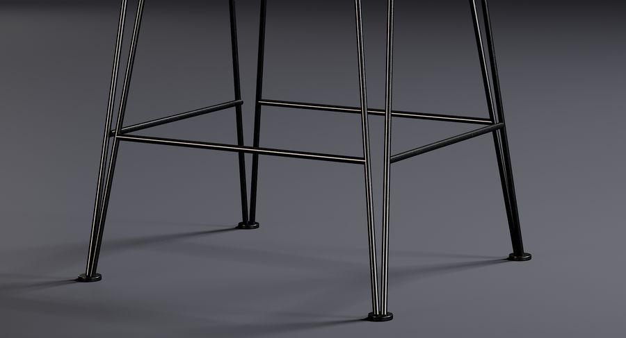 Bar stołek Living royalty-free 3d model - Preview no. 5