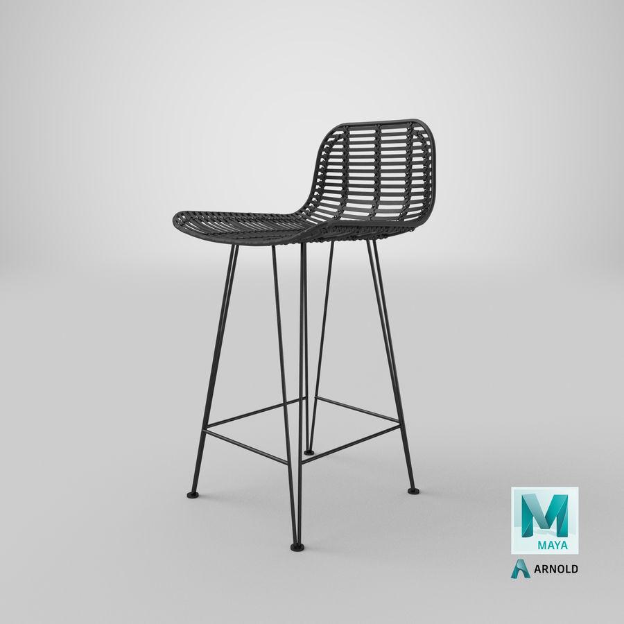Bar stołek Living royalty-free 3d model - Preview no. 37