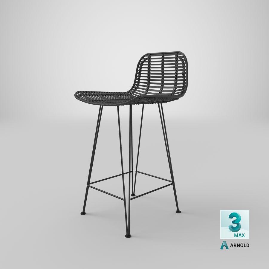 Bar stołek Living royalty-free 3d model - Preview no. 34
