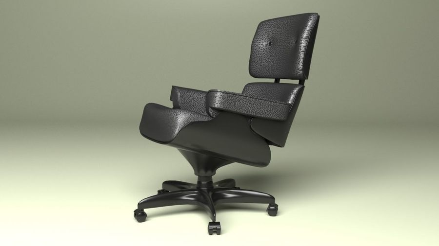 Boss Office Chair 2 royalty-free 3d model - Preview no. 4