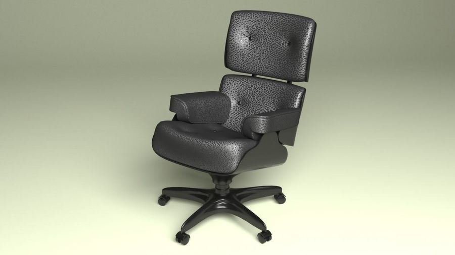 Boss Office Chair 2 royalty-free 3d model - Preview no. 2