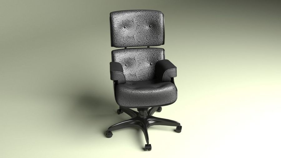 Boss Office Chair 2 royalty-free 3d model - Preview no. 5