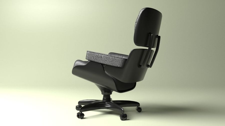 Boss Office Chair 2 royalty-free 3d model - Preview no. 3