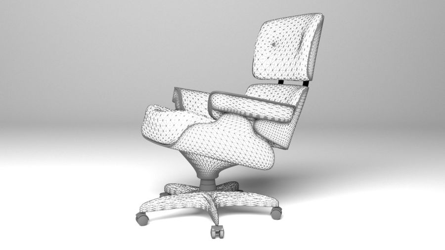 Boss Office Chair 2 royalty-free 3d model - Preview no. 6