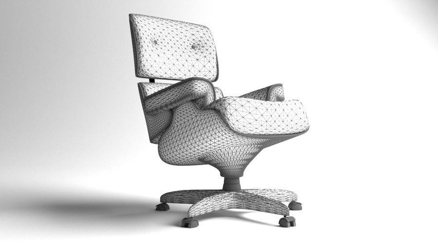 Boss Office Chair 2 royalty-free 3d model - Preview no. 10