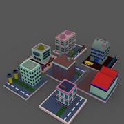 Budowanie przemysłu 3d model