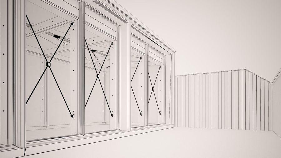 Casa mínima do recipiente royalty-free 3d model - Preview no. 18