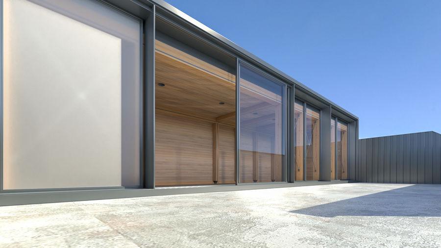 Casa mínima do recipiente royalty-free 3d model - Preview no. 2