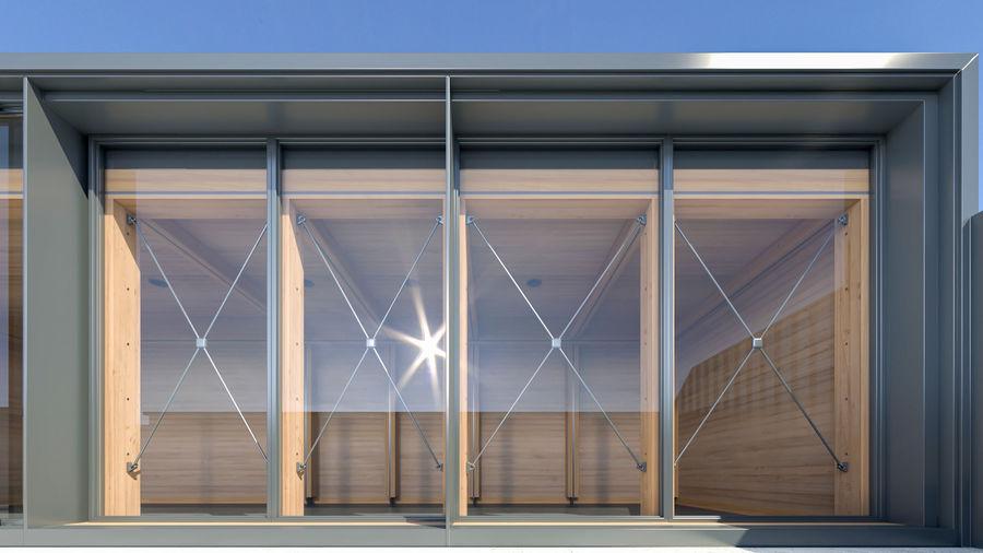 Casa mínima do recipiente royalty-free 3d model - Preview no. 10