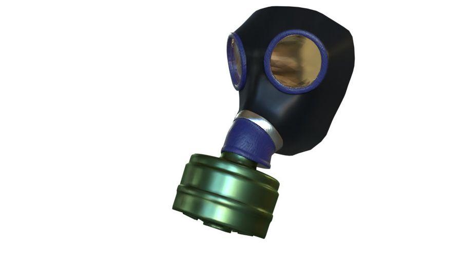 ガスマスク royalty-free 3d model - Preview no. 5
