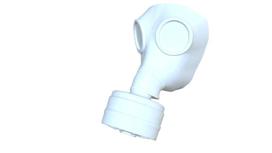 ガスマスク royalty-free 3d model - Preview no. 4