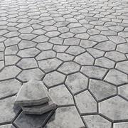 Title stone docoration n1 3d model