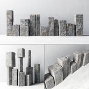 Stone lecalo image 3d model