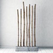 Bamboo decor 3d model