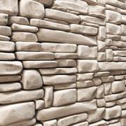 Decoración de piedra ladrillo n3 modelo 3d