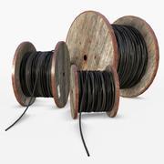 Carretes de cable modelo 3d