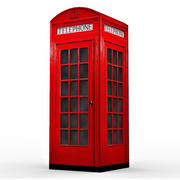 British Phone Booth 3d model