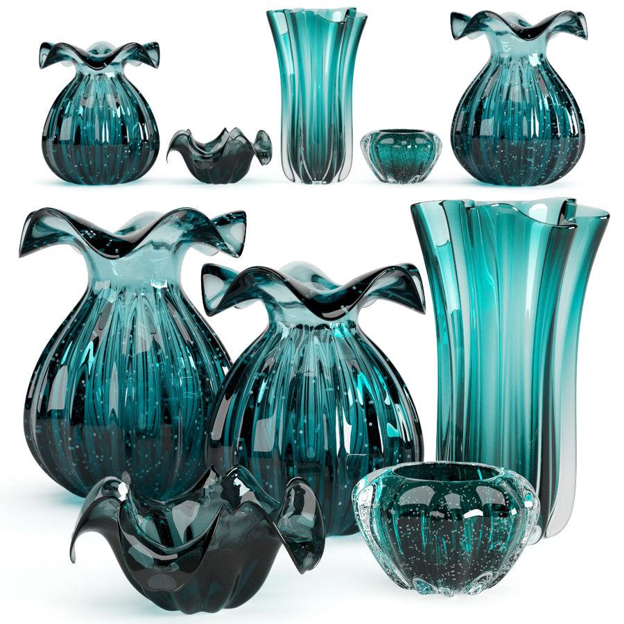 Eichholtz Vasen Set 1 royalty-free 3d model - Preview no. 1