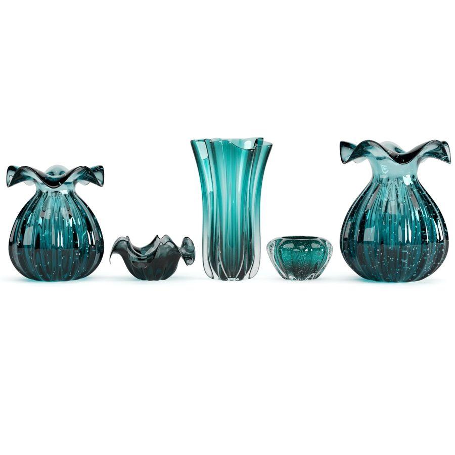 Eichholtz Vasen Set 1 royalty-free 3d model - Preview no. 5