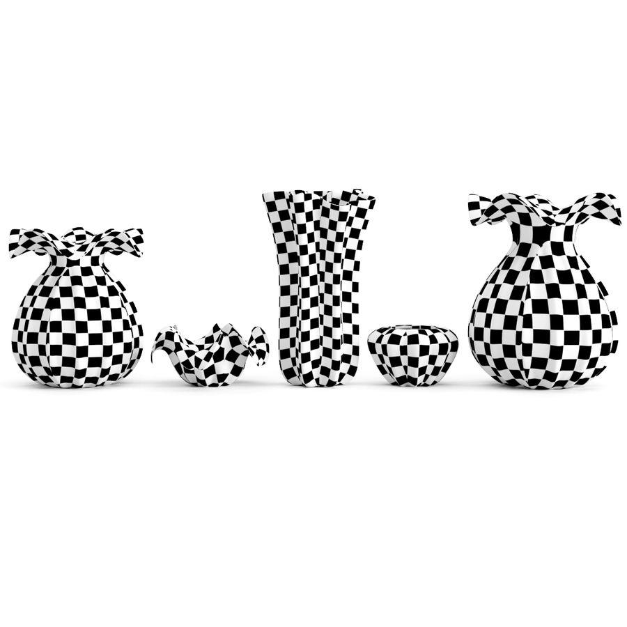 Eichholtz Vasen Set 1 royalty-free 3d model - Preview no. 7
