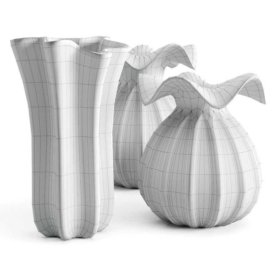 Eichholtz Vasen Set 1 royalty-free 3d model - Preview no. 13